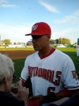 Ian Desmond Signing For The Fans